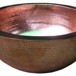 magical round copper sinks Baliartfurniture