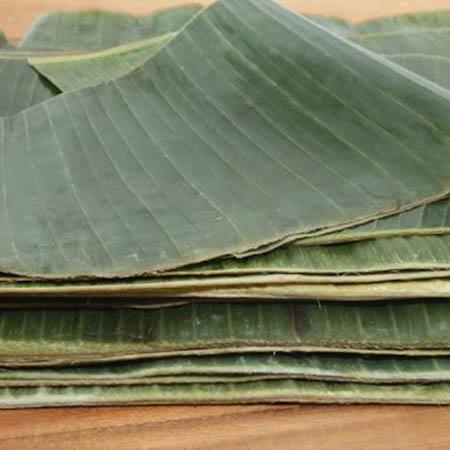 Natural Fiber - raw banana leafs