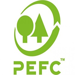 PEFC logo indonesian wood protection