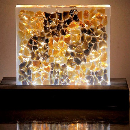 Material for Furniture - Resin Light baliartfurniture