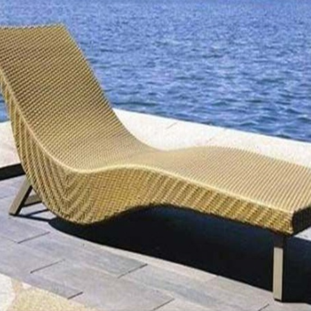 Material for Furniture - Synthetic Rattan Sunlounger baliartfurniture