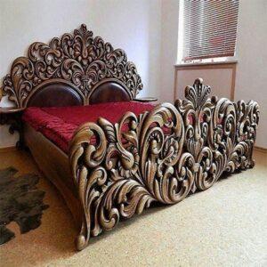Amethyst bed frame BDR BFRA 0004