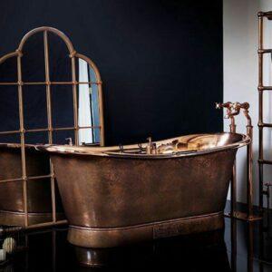 Indonesia Manufacturers Supplier furniture: bathroom bathtub copper design luxury baliartfurniture